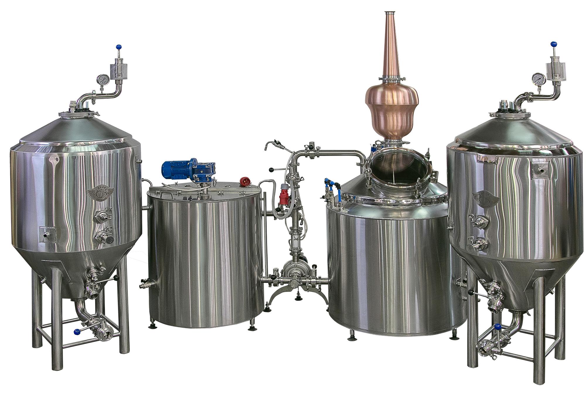 Все необходимое для организации домашней пивоварни